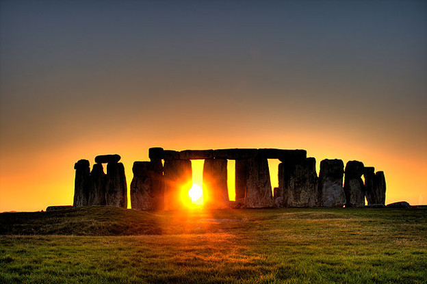 Stonehenge is aligned with the winter solstice. Image by Simon Wakefield - License