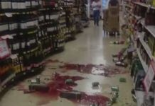 Ecuador earthquake supermarket aftermath 2016-04-16