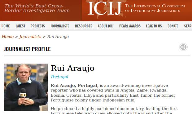 Rui Aaraújo - International Consortium of Investigative Journalists