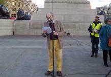 Alberto Portugheis Speech at the Trafalgar Square in London