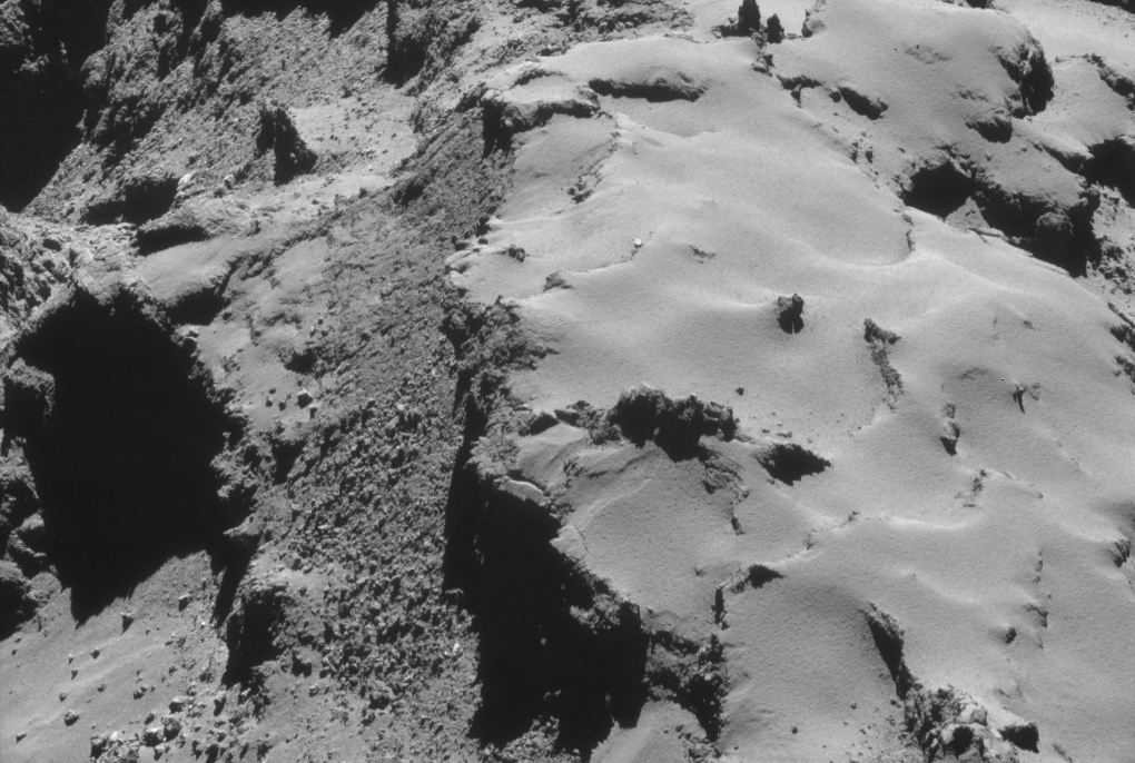 Rosetta NAVCAM image taken on 28 October 2014