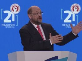 Martin Schulz, the European Parliament President, speech at the 21st Congress of the Portuguese Socialist Party.