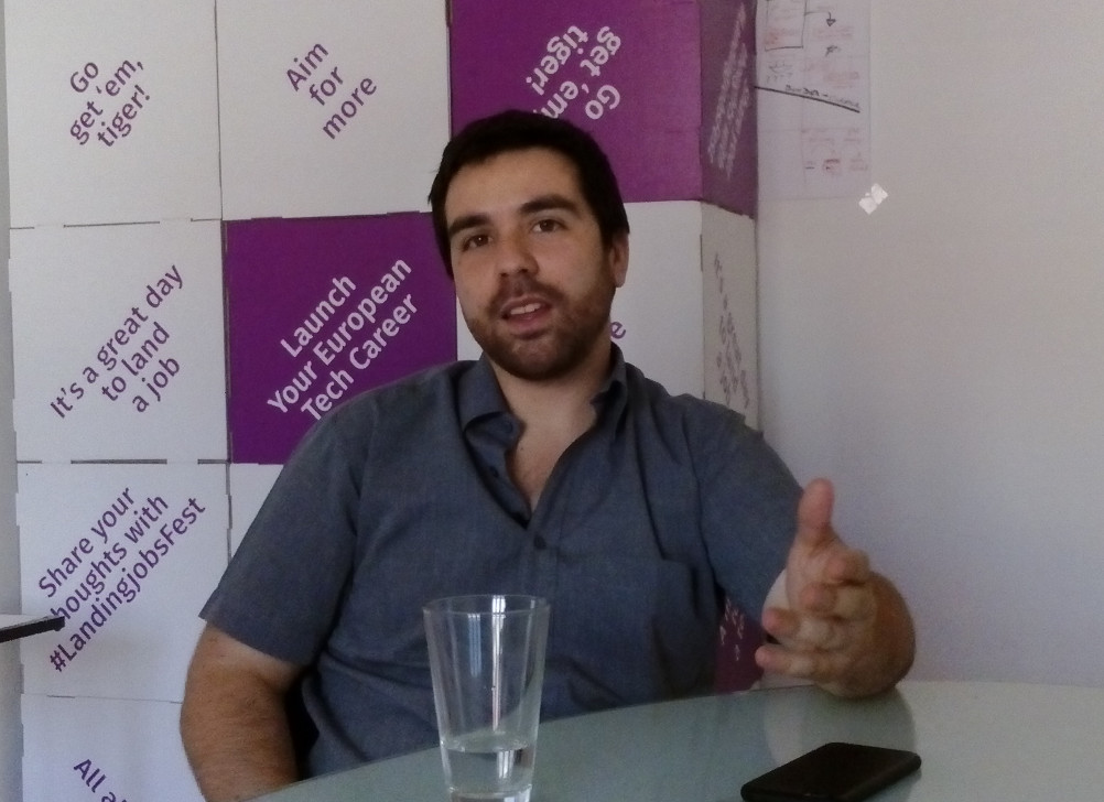 Interview with Pedro Oliveira founder of Landing.jobs