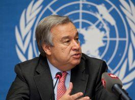 Antonio Guterres UN Secretary-General.