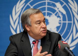 Antonio Guterres UN Secretary-General.