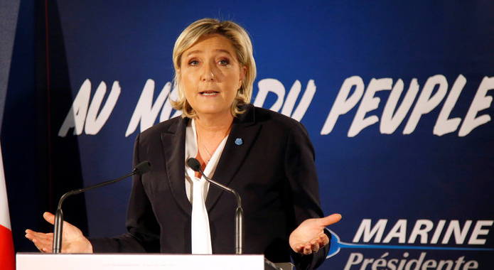 Marine Le Pen goes ahead to the second round of the French presidential elections against Macron.