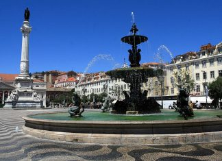 Downtown Lisbon - Rossio