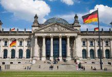 German Bundestag in Berlin.