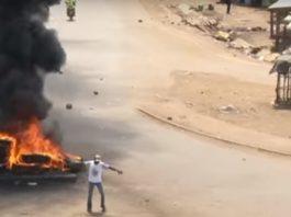 Kenya election riots.