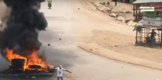 Kenya election riots.