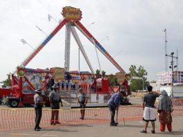 Ohio State Fair fireball deadly incident.