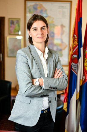 Ana Brnabic is Serbia first female PM in post-communist history. Photo by: Ministry of Public Administration and Local Self-Government, Republic of Serbia