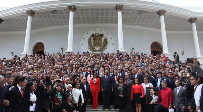 Constituent Assembly members. Photo by: AVN.