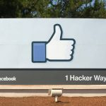 Facebook headquarters entrance sign in Menlo-Park-vianews.