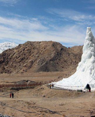Ice Stupa.
