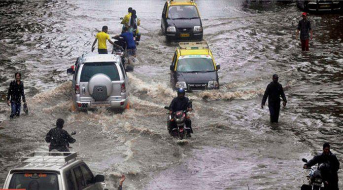 Mumbai, India, flood 2017
