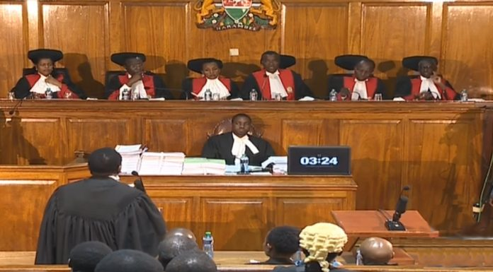 Kenya Presidential election result annulled by Supreme Court decision.