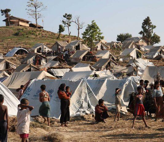 Rakhine State in western Myanmar.