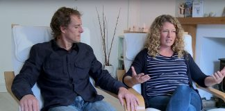 "Nick and Sally Rowe in an interview for ""Cristian Concern""."