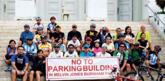 Multi-Level parking in Baguio opposed.