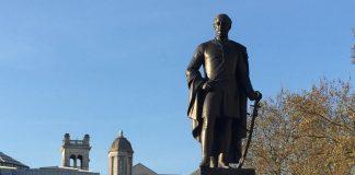 Sir Henry Havelock statue in Trafalgar Square.