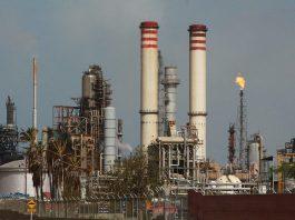 Amuay oil refinery in Venezuela