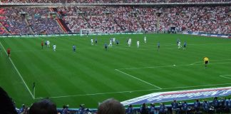 UEFA Euro 2008 Qualifiers. England VS Estonia. Photo by: John the scone.