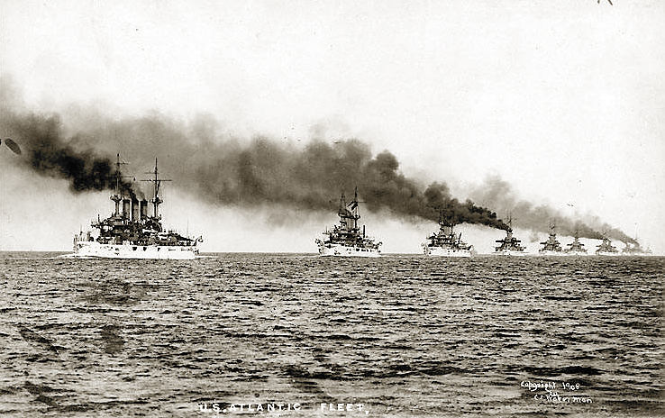 US atlantic fleet 1907