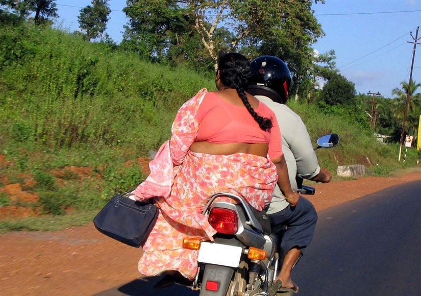 Obese Indian Couple.