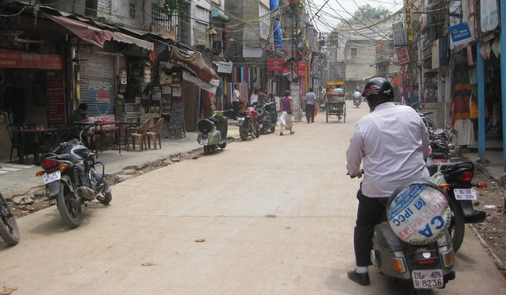 Paharganj, Central Delhi district in New Delhi.