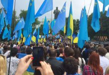 Rally deportation of Crimean Tatars. Ukraine. Photo by: kaktuse.
