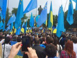 Rally deportation of Crimean Tatars. Ukraine. Photo by: kaktuse.