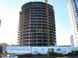 Trump Tower in Punta del Este, Uruguay, is a 26-story apartment tower named after Donald Trump.