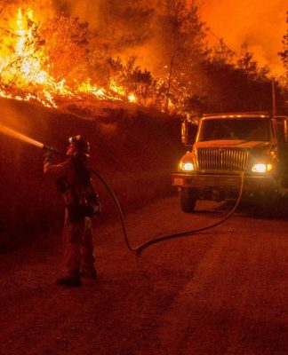 California wildfires. Photo by: Jeff Head.
