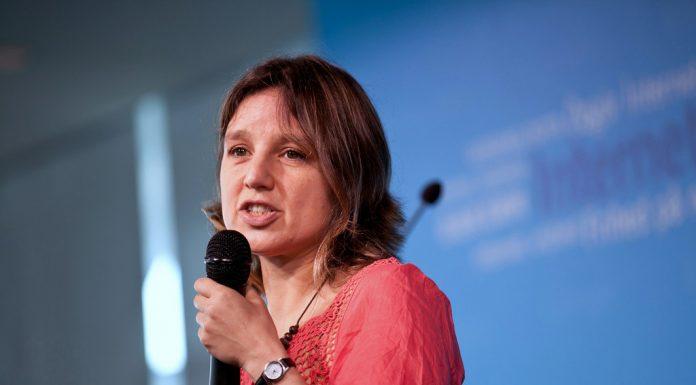 Zeynep Tufekci. Photo by: J.D. Lasica.