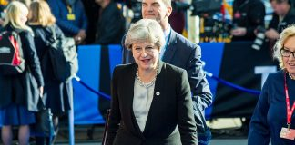 Theresa May, Prime Minister, United Kingdom. Photo by: Aron Urb (EU2017EE).
