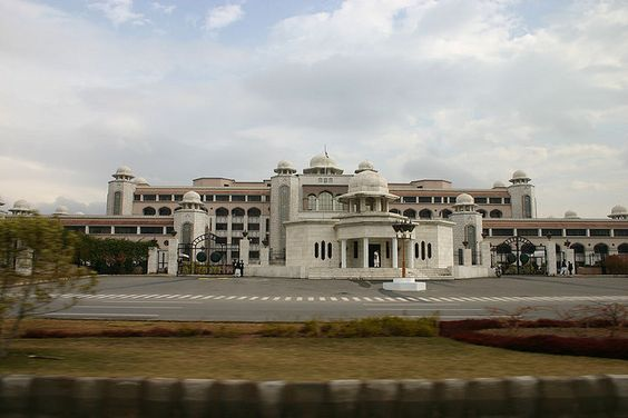 Pakistanese Government building.