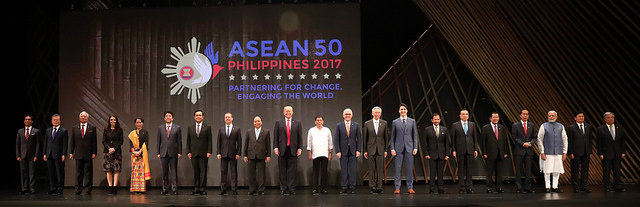 The 50th anniversary of the founding of Asean. Photo by: asean.org.