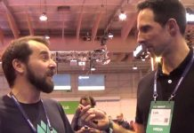 Founder of JustEnjoy, Luis Caixado, at the Web Summit.