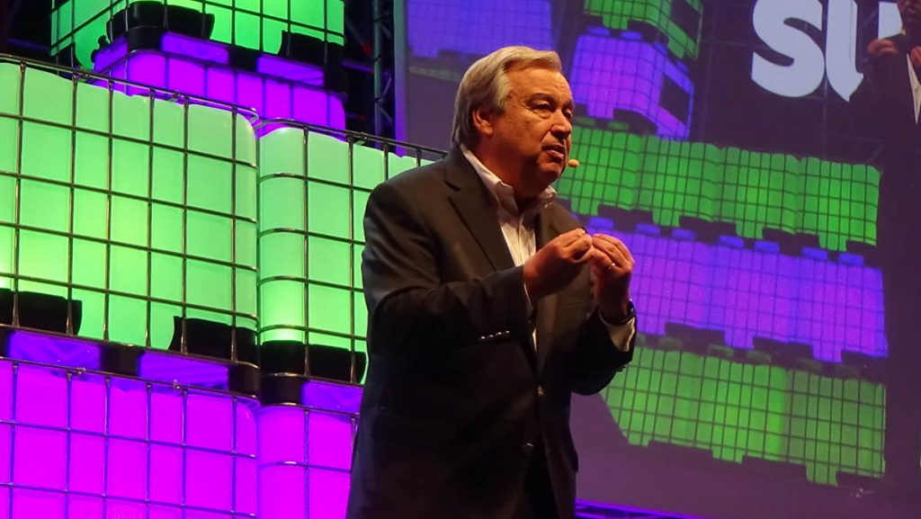 Secretary-General, Antonio Guterres at the Web Summit