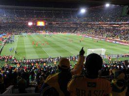 FIFA World Cup 2010-06-15. Brazil-North Korea. Photo by: Marcello Casal Jr (ABr)