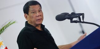 Philippines President Rodrigo Duterte. Photo by; PCOO EDP.