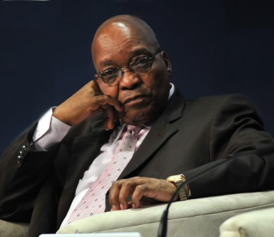Jacob Zuma, Presdent of South Africa, at the World Economic Forum on Africa 2009 in Cape Town, South Africa, June 12, 2009. Photo by World Economic Forum / Eric Miller.