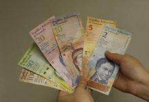 Bank of Venezuela notes.
