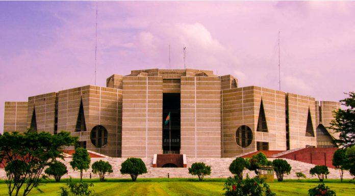 Bangladesh National Assembly. Photo by Saiful Aopu & Nahid Sultan.