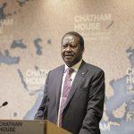 Raila Odinga. Photo by: Chatham House