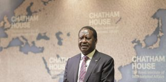 Raila Odinga. Photo by: Chatham House