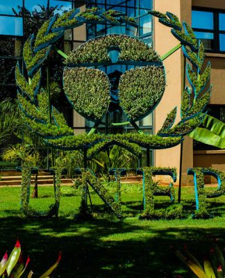 UNEP headquarters in Nairobi, Kenya. Photo by: IISD Reporting Services.