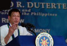 President Rodrigo Duterte speech 07/01/16. Photo by: Presidential Communications Operations Office.