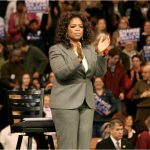 Oprah Winfrey at a rally in 2007. Photo by: vargas2040 (CC BY-SA 2.0)